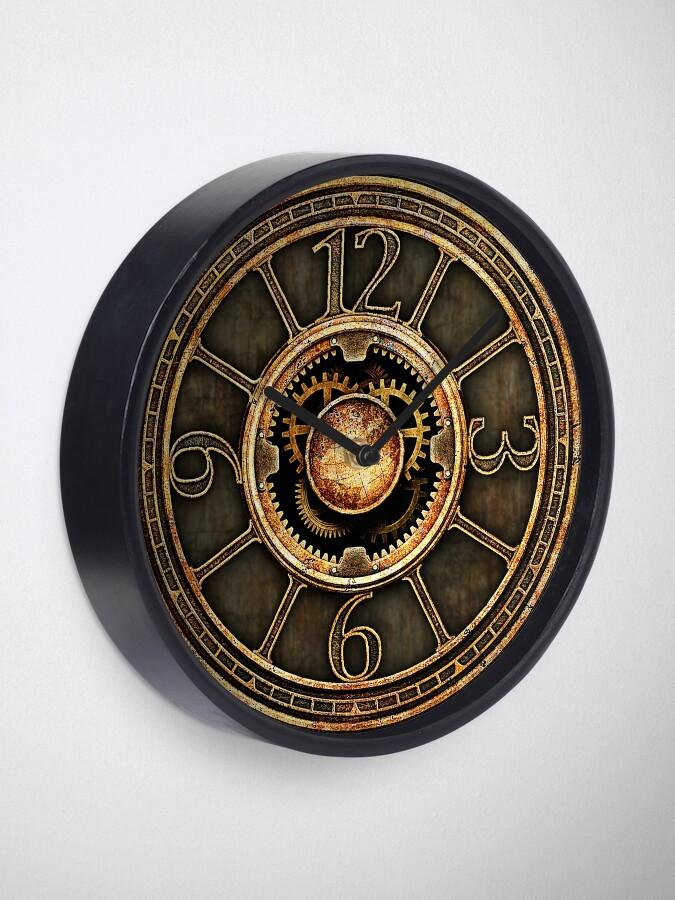 Alternate view of Vintage Steampunk Clock No.2 Clock