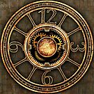 Vintage Steampunk Clock No.2 by Steve Crompton