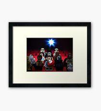 Star Wars Movie Night Framed Print