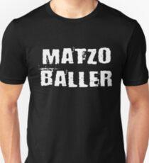 Matzo Baller Shirt Funny Jewish Passover Hebrew Cuisine Tee T-Shirt
