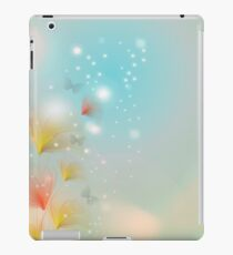 Blossom with bokeh effect iPad Case/Skin
