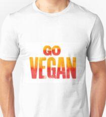 GO VEGAN Print Unisex T-Shirt