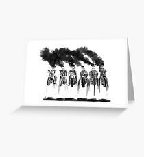 Smokin Motorcycles Greeting Card