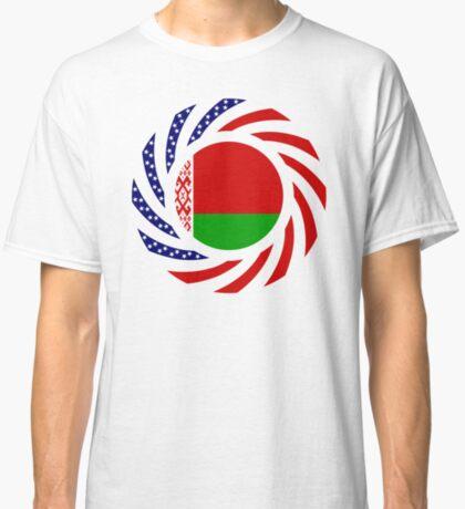 Belarusian American Multinational Patriot Flag Series Classic T-Shirt