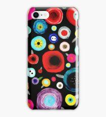 Still Life Floral Black Background iPhone Case/Skin