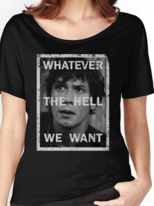 Bellamy - The 100 - Whatever the hell we want Women's Relaxed Fit T-Shirt