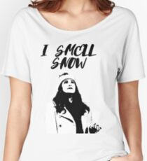 I smell snow Women's Relaxed Fit T-Shirt