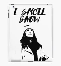 I smell snow iPad Case/Skin