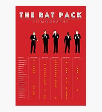 The Rat Pack Filmography Photographic Print