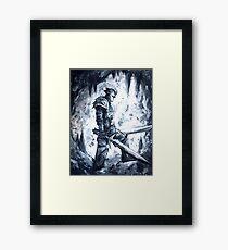 Two Sword Knight Framed Print