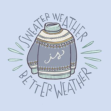 Sweater Weather by spiropaperco