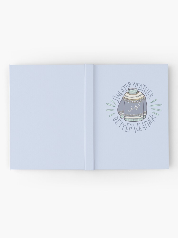 Alternate view of Sweater Weather Hardcover Journal