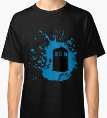 TARDIS Splat Classic T-Shirt