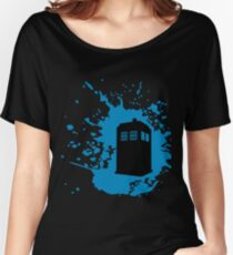 TARDIS Splat Women's Relaxed Fit T-Shirt