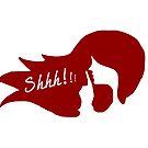 Shhh! Secret Bar - Red by anniemgo