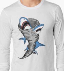 Shark Tornado Long Sleeve T-Shirt