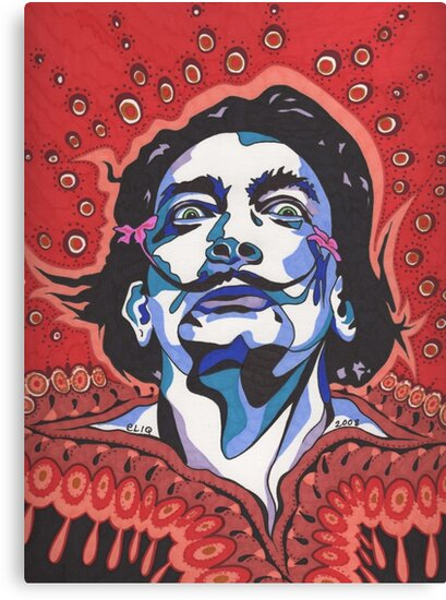 Salvador Dali II by Angelique  Moselle