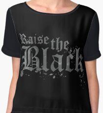 Raise the Black Women's Chiffon Top
