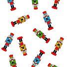The Nutcracker - Christmas Pattern by 4ogo Design
