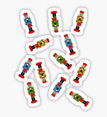The Nutcracker - Christmas Pattern Sticker