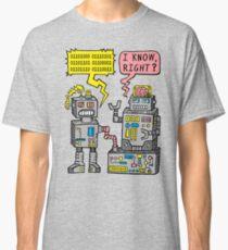 Robot Talk Classic T-Shirt