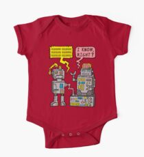 Robot Talk One Piece - Short Sleeve