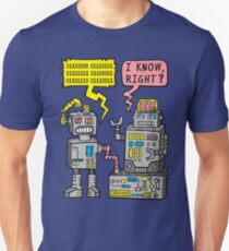 Robot Talk Slim Fit T-Shirt