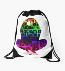 Kate Collage Drawstring Bag