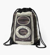 Vintage Camera I Drawstring Bag