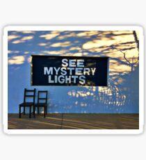 Marfa: See Mystery Lights Sticker