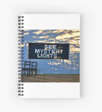 Marfa: See Mystery Lights Spiral Notebook