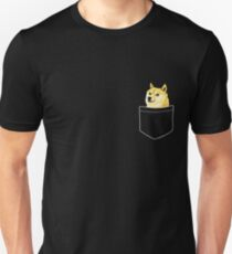 Camiseta ajustada Pocket Doge