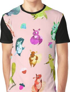 Squirrels  Graphic T-Shirt