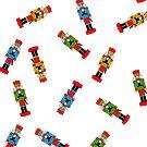 Nutcracker Pattern - Christmas, Xmas by 4ogo Design