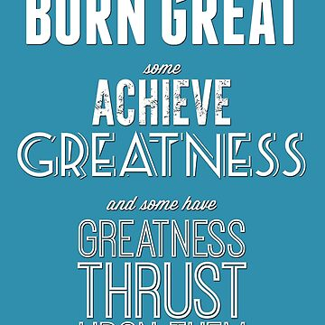 Greatness by SgtGrammar