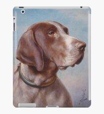 Dog Portrait by Carl Reichert iPad Case/Skin