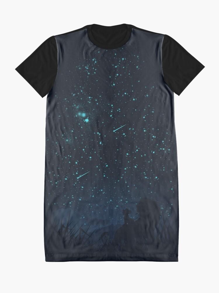 Alternative Ansicht von Unter den Sternen T-Shirt Kleid