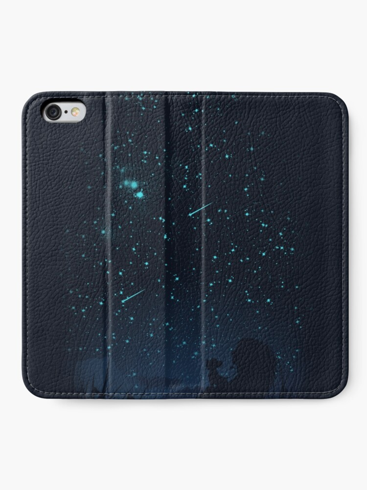 Alternate view of Under The Stars iPhone Wallet