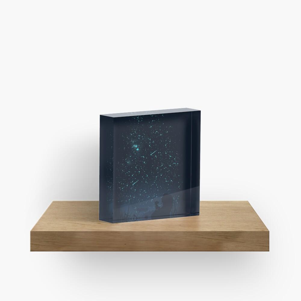 Under The Stars Acrylic Block