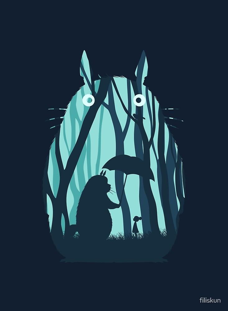 My Neighbor Totoro by filiskun