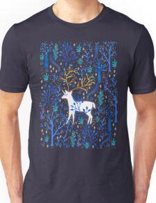 Deericorn In Blue Unisex T-Shirt