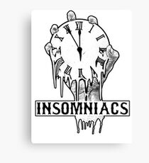 Insomniacs Melting Time Canvas Print
