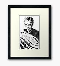The Cosmic Doctor - Twelve  Framed Print