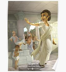 Hypatia - Rejected Princesses Poster