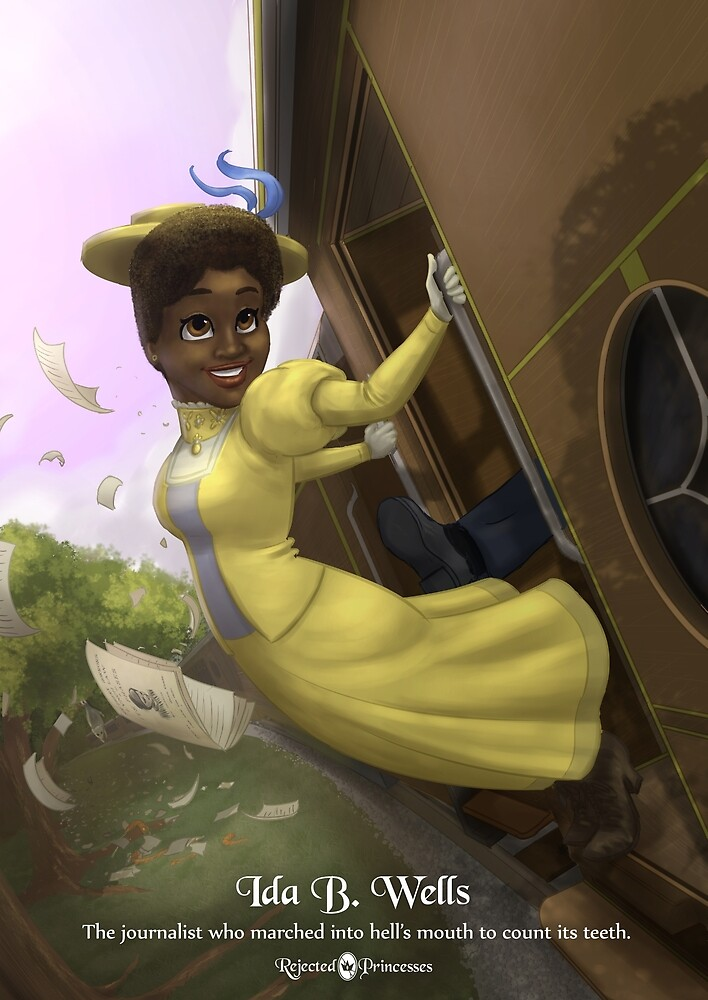 Ida B Wells - Rejected Princesses by jasonporath