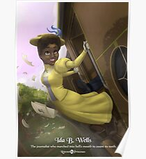 Ida B Wells - Rejected Princesses Poster