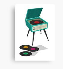 Record Player Canvas Print