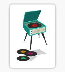 Record Player Sticker