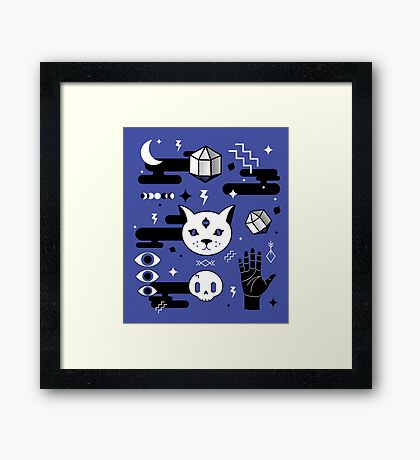 Eveel Kitties Framed Print
