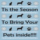 Tis The Season to Bring Your Pets Inside by bearsmom42